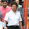 "Exclusif - Tom Cruise sur le tournage de ""Mena"" à Atlanta, le 18 mai 2015"