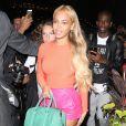 Beyonce Knowles à la sortie d'un studio d'enregistrement à New York, le 14 mai 2015