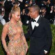 Beyoncé Knowles et son mari Jay-Z - Soirée Costume Institute Gala 2015 (Met Ball) au Metropolitan Museumcélébrant l'ouverture de Chine: à travers le miroir à New York, le 4 mai 2015.
