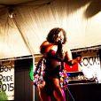 Chrissy Collins, la choriste de Beyoncé Knowles - Photo postée sur Instagram en mai 2015