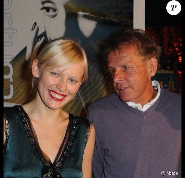 Patrick Poivre d'Arvor et Anna Sherbinina