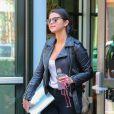 Selena Gomez se promène dans les rues de New York, le 3 mai 2015
