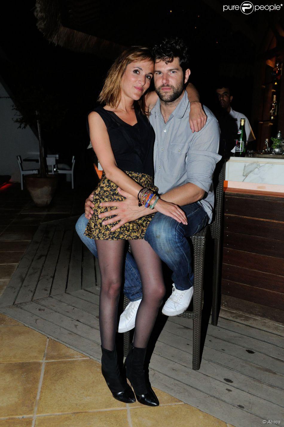 EXCLUSIF. Olivier Barthélémy et sa petite amie Victoria Bedos pendant L'Escapade des Stars au Radisson Blu Resort and Thalasso à Djerba, le 7 Juin 2015.