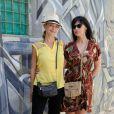 EXCLUSIF. Hélène de Fougerolles et Mathilda May pendant L'Escapade des Stars au Radisson Blu Resort and Thalasso à Djerba, le 7 Juin 2015.