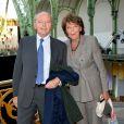 Jacques Toubon et sa femme Lise - Soirée d'inauguration du Cinéma Paradiso au Grand Palais à Paris le 16 juin 2015