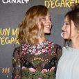 """Alice Isaaz et Lola Le Lann - Avant-première du film """"Un moment d'égarement"""" au Gaumont Opéra à Paris, le 17 juin 2015."""
