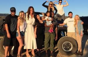 Caitlyn Jenner : Ravissante en robe et entourée des siens pour la fête des Pères