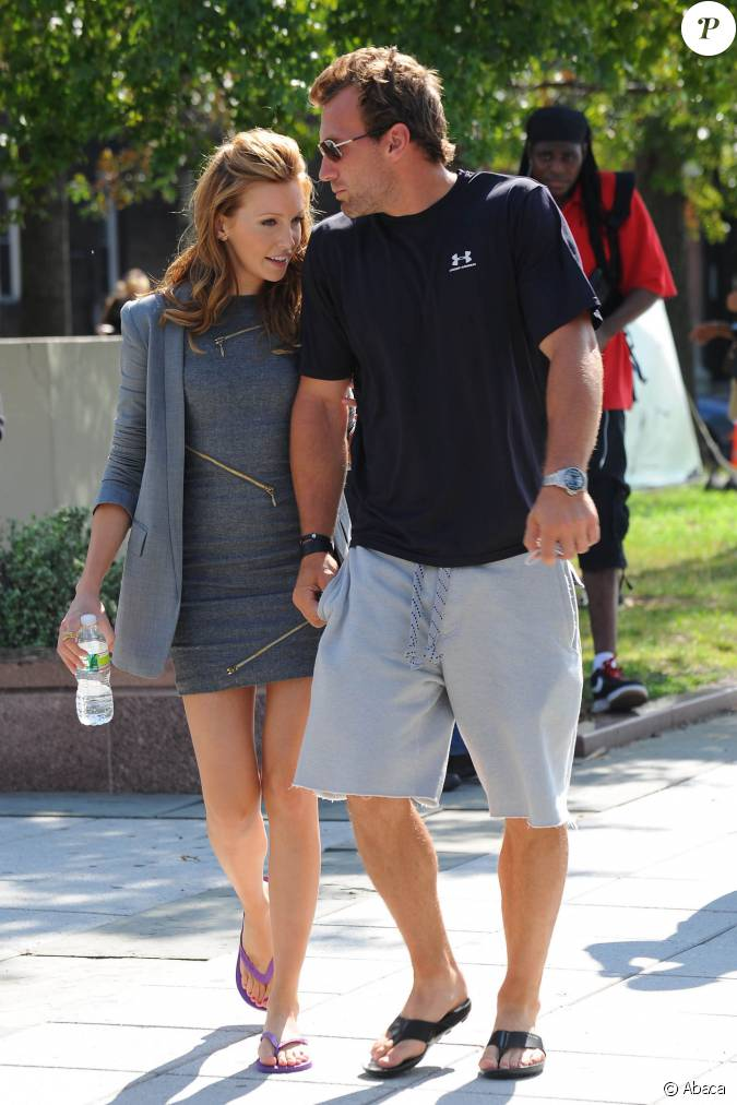 Jarret Stoll and Katie Cassidy