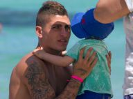 Marco Verratti (PSG) : Complice avec Laura et leur bébé pour une pause au soleil