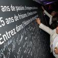 Exclusif - Le mur anniversaire (guest) - Fête pour les 125 ans de l'Automobile club de Monaco (ACM) au Grimaldi Forum de Monaco, le 25 juin 2015.