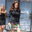 Caitlyn Jenner à la sortie de chez la styliste Patricia Field à New York le 30 juin 2015
