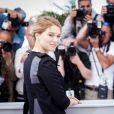 "Léa Seydoux - Photocall du film ""The Lobster"" lors du 68e Festival International du Film de Cannes. Cannes, le 15 mai 2015"