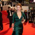 """Léa Seydoux - Descente des marches du film """" Saint-Laurent"""" lors du 67e Festival du film de Cannes – Cannes le 17 mai 2014."""