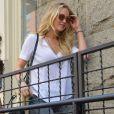 Jennifer Lawrence visite un appartement à New York le 26 juin 2015.