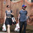 Daniel Radcliffe et Erin Darke à New York le 1er juillet 2015.