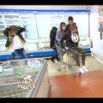 """Exclusif - Maryline, Jazz, Shake et Terry (supermarché asiatique) - Captures d'écran de l'épisode 4 de l'émission """"Qui veut épouser mon fils"""" saison 4 03/07/2015 -"""