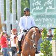 Sheikh Khalifa Abdulaziz Al Thani - Longines Paris Eiffel Jumping au Champ-de-Mars à Paris, le 3 juillet 2015.