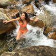 Marine Lorphelin, sexy en bikini, juin 2015.