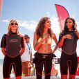 Alexandra Rosenfeld, Chloé Mortaud et Flora Coquerel à la Summer Cup, à la Baule, en juillet 2015