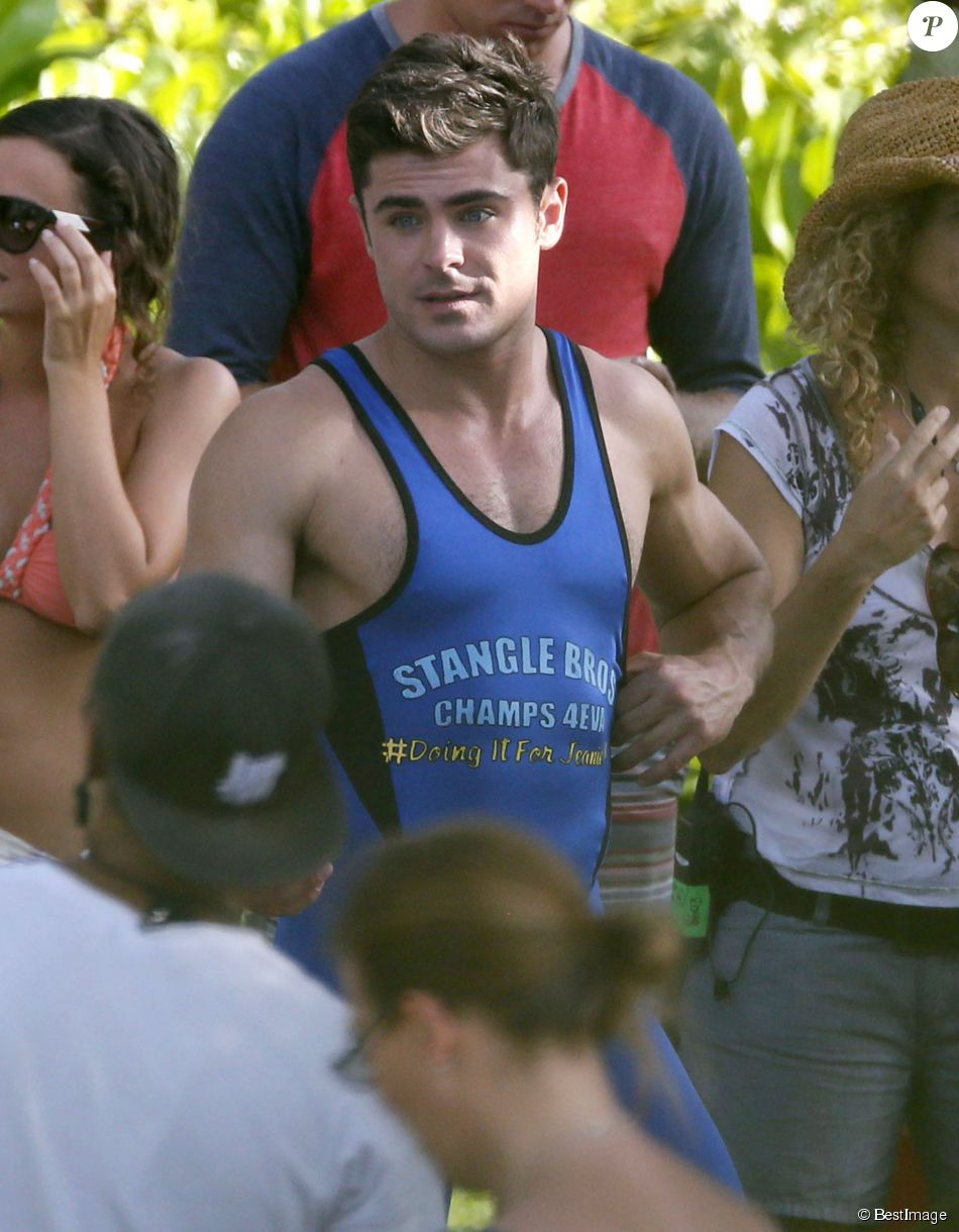 Exclusif Zac Efron Tournage Du Film Mike And Dave Need