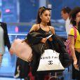 Exclusive - Ariana Grande à l'aéroport de JFK, à New york, le 29 juin 2015
