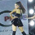Ariana Grande lors de la Gay Pride Dance 2015 à New York, le 28 juin 2015