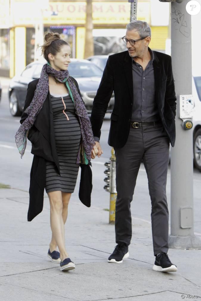 jeff goldblum et sa femme enceinte emilie livingston 224 los