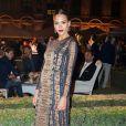 """Jessica Alba - Soirée pour fêter l'ouverture du Flagship Store """"Tory Burch"""" dans le jardin de l'hôtel de Sully à Paris, le 7 juillet 2015."""