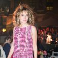 """Valeria Golino - Soirée pour fêter l'ouverture du Flagship Store """"Tory Burch"""" dans le jardin de l'hôtel de Sully à Paris, le 7 juillet 2015."""