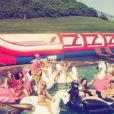 Taylor Swift et ses amis sur Instagram, le weekend du 4 juillet 2015
