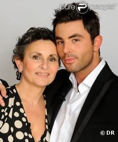 Benjamin ( Qui veut épouser mon fils ? ), ici avec sa maman Odile.