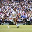 Roger Federer of SWISS during the men final against Novak Djokovic of Serbia at the Wimbledon Championships in London, Great Britain on JULY, 12, 2015. Photo by Corinne Dubreuil/ABACAPRESS.COM12/07/2015 - London