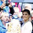 La princesse Victoria de Suède fêtait le 14 juillet 2015 son 38e anniversaire à la Villa Solliden, en compagnie de ses parents, de son mari le prince Daniel, et de leur fille la princesse Estelle, 3 ans, qui a fait le show, comme à son habitude.