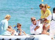 Cécilia Attias : Déjeuner chic à la plage avec sa fille et ses petits-enfants