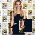 Jennifer Lawrence dévoile son tatouage au Comic-Con 2015.
