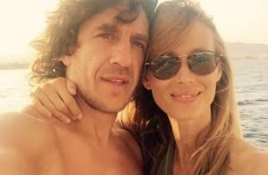 Carles Puyol futur papa : Sa belle Vanesa enceinte de leur second enfant