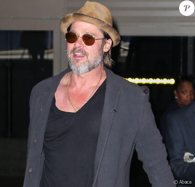 Brad Pitt à Los Angeles le 15 mai 2015