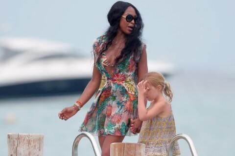 Naomi Campbell : En vacances à Saint-Tropez, la Panthère se détend et s'éclate