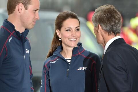 Kate Middleton : Lumineuse sous la pluie pour soutenir son champion
