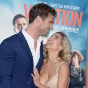 Chris Hemsworth craquant avec sa sublime Elsa Pataky et ses frères Luke et Liam
