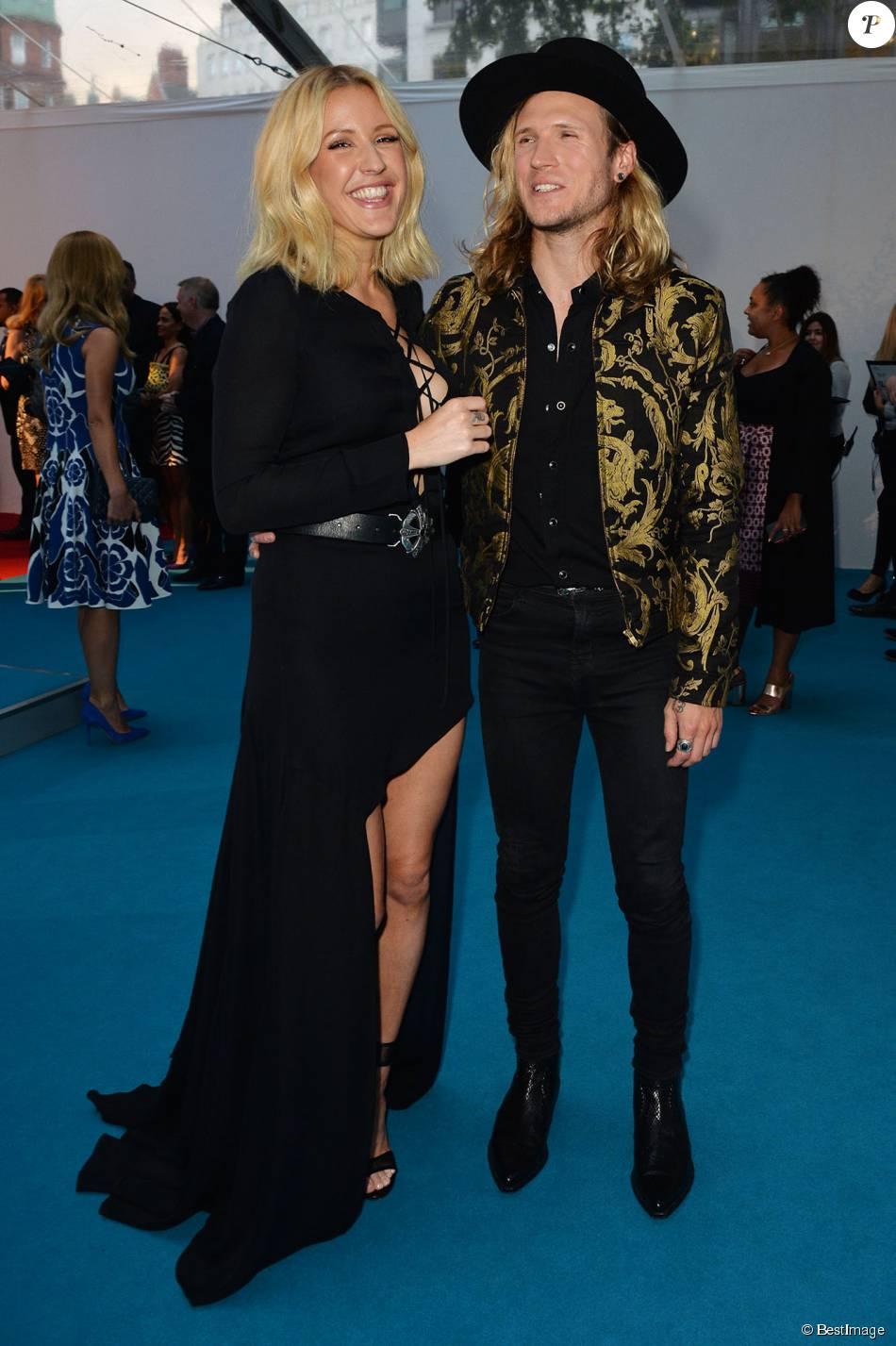 """Ellie Goulding et son petit ami Dougie Poynter - Cérémonie des """"Glamour Woman of the Year"""" à Londres, le 2 juin 2015."""