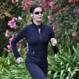 Teri Hatcher fait son jogging à Los Angeles Le 28 novembre 2014.