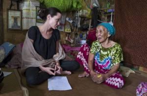 Angelina Jolie, soutien précieux en Birmanie pendant que son mari fait la fête