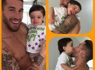 Sergio Ramos (Real Madrid) : Retrouvailles câlines avec son bébé et sa chérie