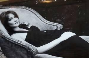 PHOTOS : Carla Bruni, aux enchères... elle se vend toujours !
