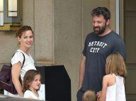 Ben Affleck et Jennifer Garner : Réunis avec les enfants, loin du tumulte...