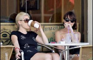 REPORTAGE PHOTOS EXCLUSIVES : Sophie Monk, après le fast food... café-clopes!