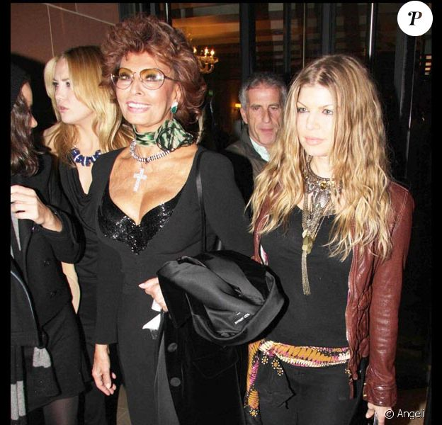 Kate Hudson, Sophia Loren et Fergie
