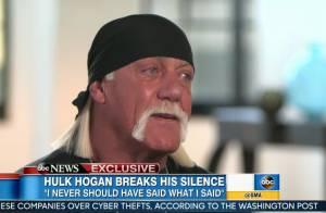 Hulk Hogan, en larmes après ses propos racistes : ''Je voulais me suicider''