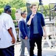 """Kate Bosworth et Hayden Christensen arrivent dans les studios de l'émission TV """"Extra"""" à Universal City. Le 27 août 2015"""